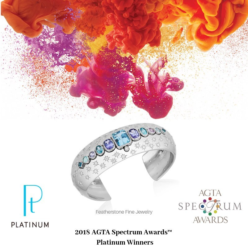a33ccd5e5 AGTA is delighted to announce another year of sponsorship from the Platinum  Guild International (PGI) in the 2019 AGTA Spectrum Awards™!