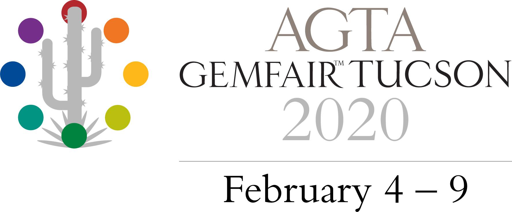 2020 AGTA Tucson LOGO_horizontal_dates_grey year